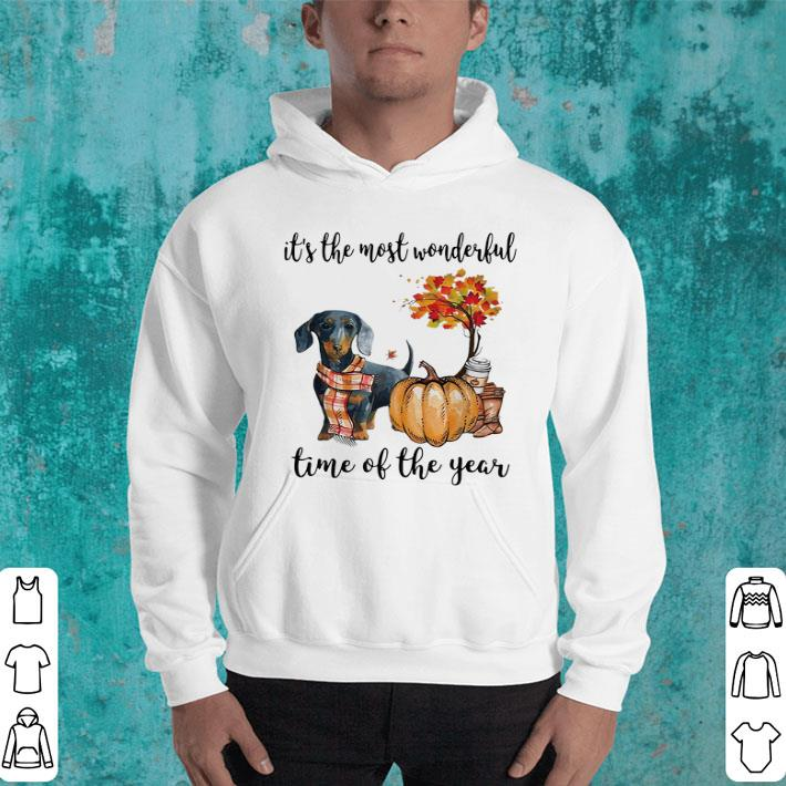 - Dachshund it's the most wonderful time of the year shirt