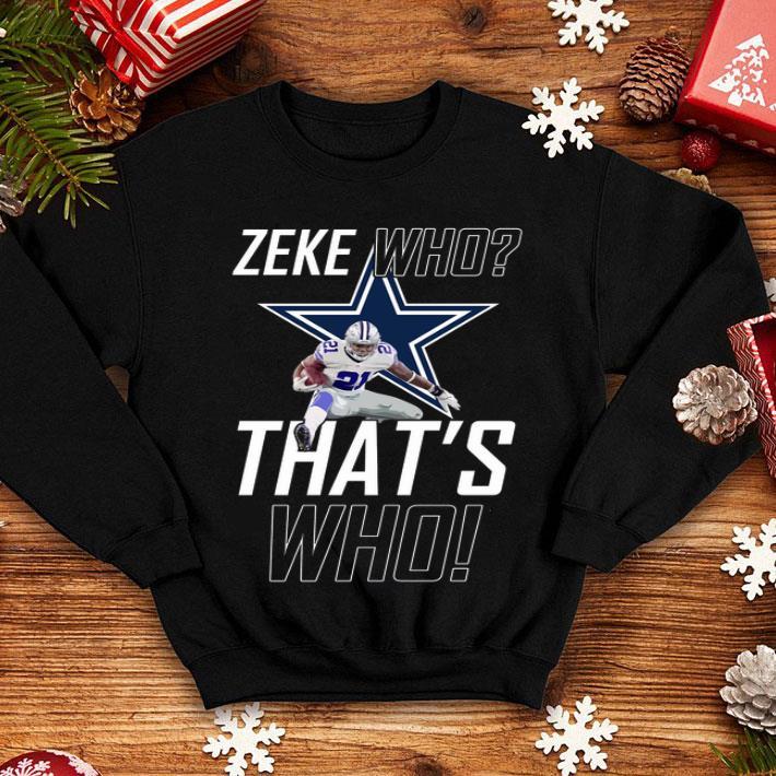 zeke cowboys shirt