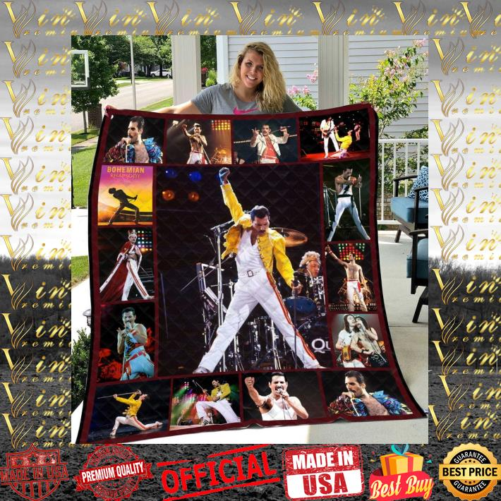 - Freddie Mercury Queen Bohemian Rhapsody Quilt Blanket