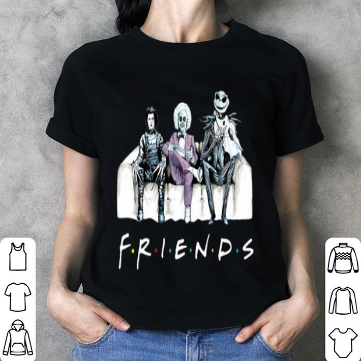 Friends tv show Beetlejuice Edward Scissorhands Jack Skellington shirt