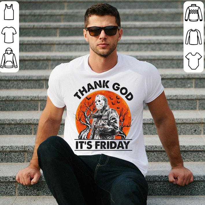 - Jason Voorhees thank god it's friday shirt