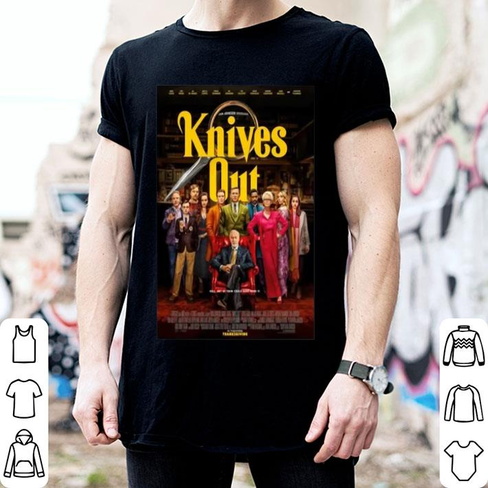 - Knives Out In Theaters Thanksgiving shirt