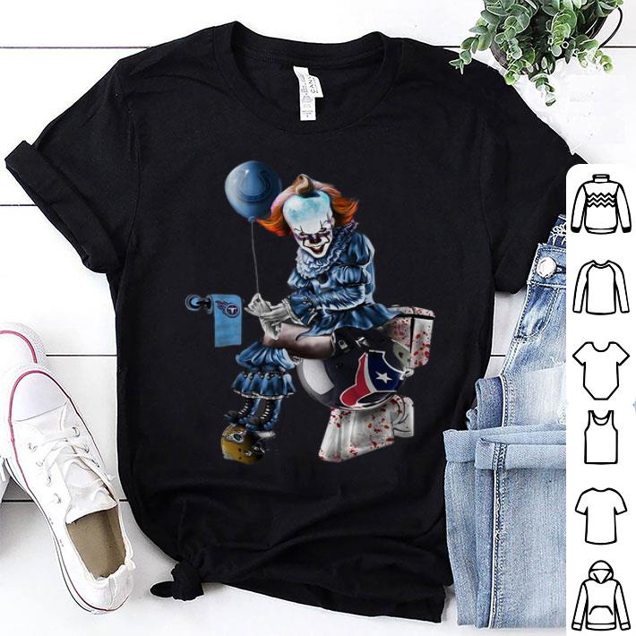 Pennywise Colts Tennessee Titans Houston Texans Jaguars Toilet shirt