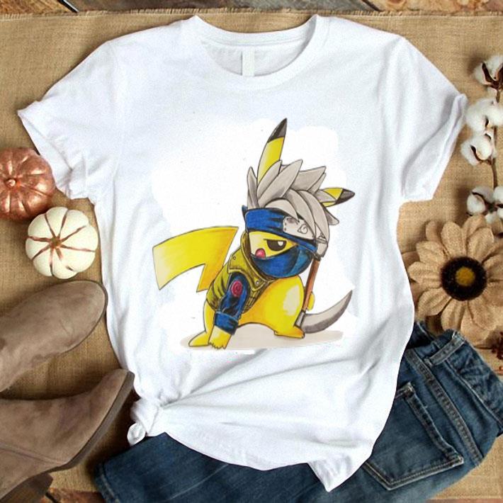 - Pikachu Hatake Kakashi shirt
