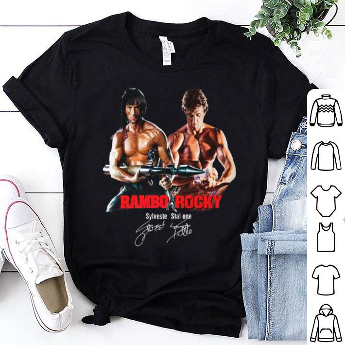 - Rambo Rocky Sylvester Stallone Signature shirt