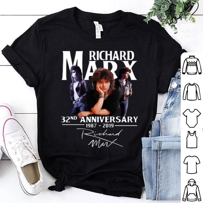 - Richard Marx 32nd anniversary 1987-2019 signature shirt