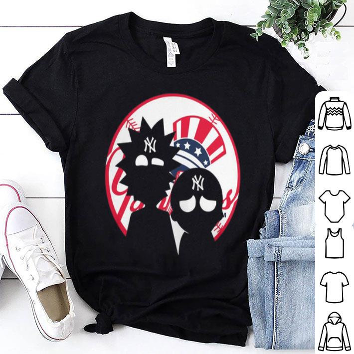 - Rick and Morty New York Yankees shirt