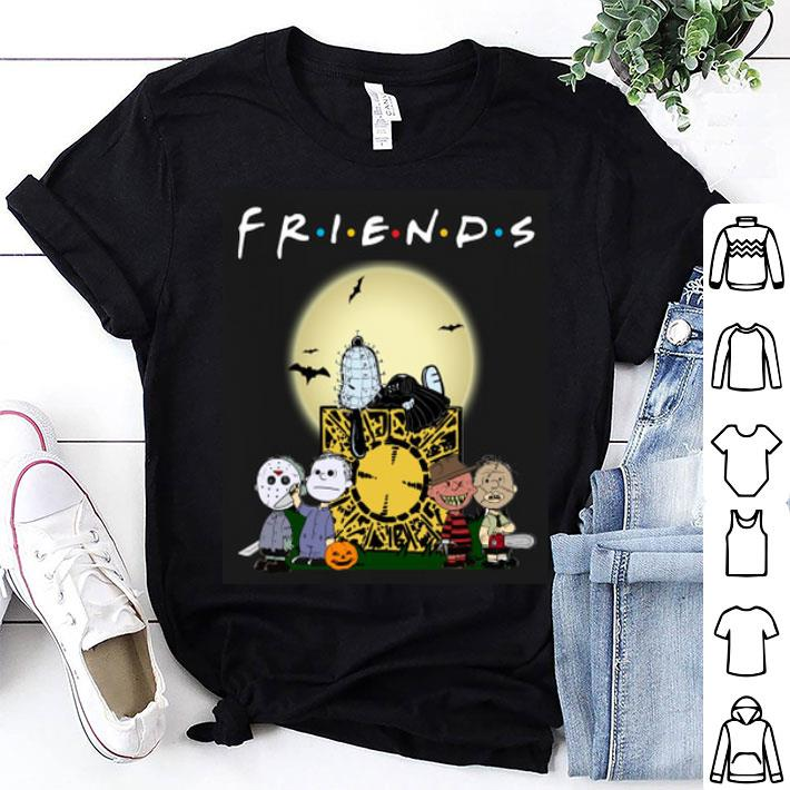 - The Peanuts style Horror Movie Friends shirt