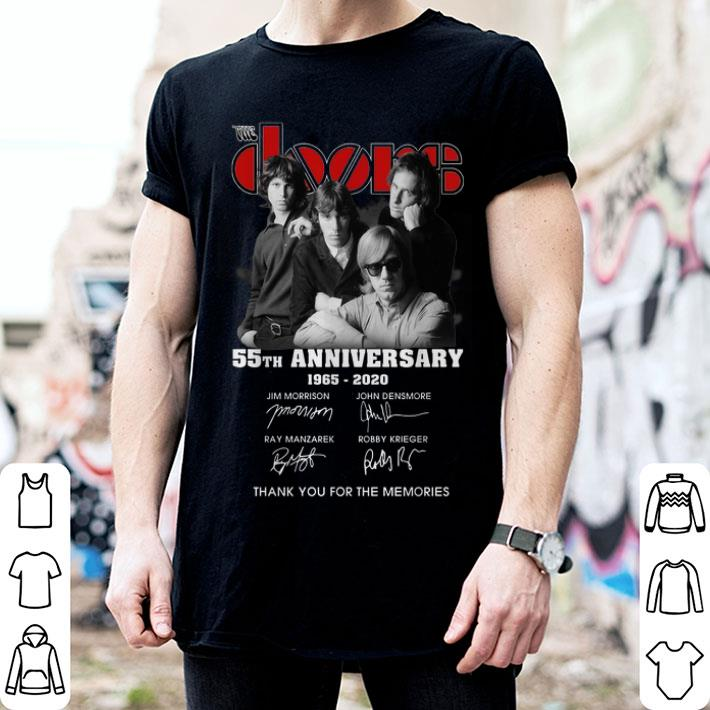 - The doors 55th anniversary 1965-2020 thank you for the memories shirt