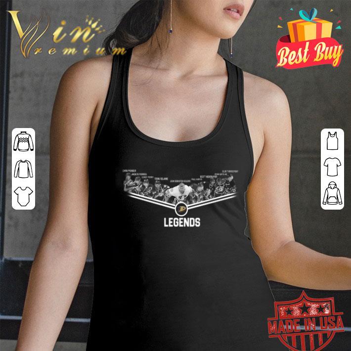 - Anaheim Ducks players legends shirt