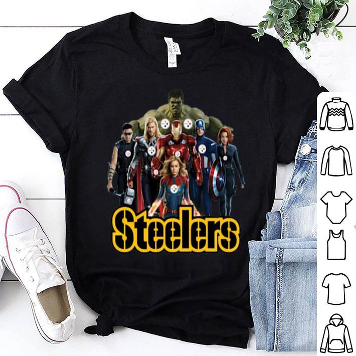 - Avengers Endgame Pittsburgh Steelers shirt