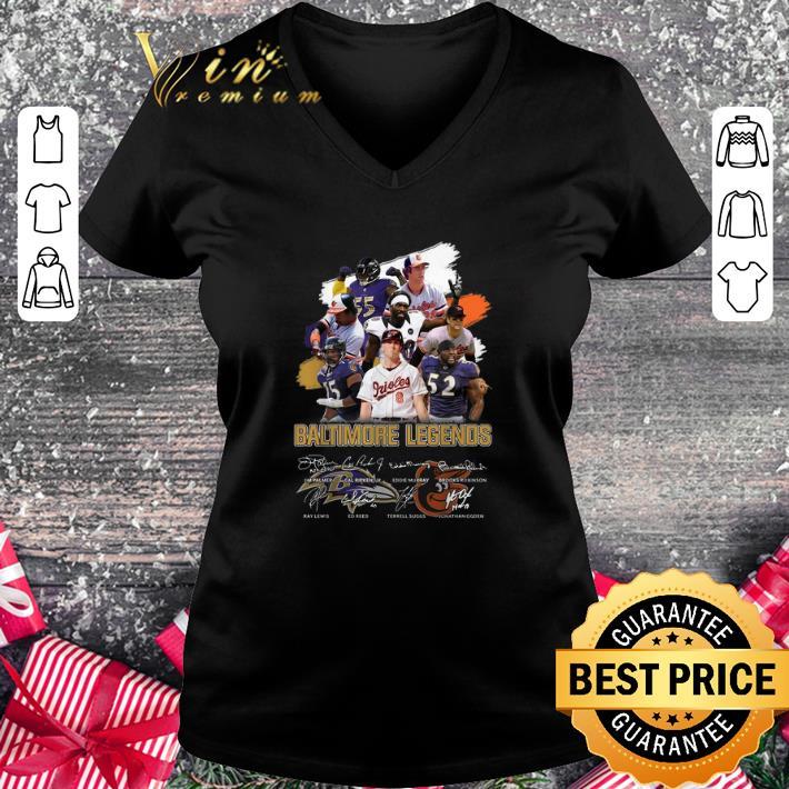 - Best Baltimore Legends signatures shirt