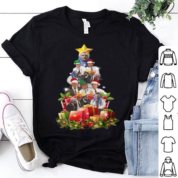 - Bottom Holy Christmas tree shirt