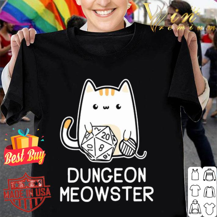 - Cat dungeon meowster shirt