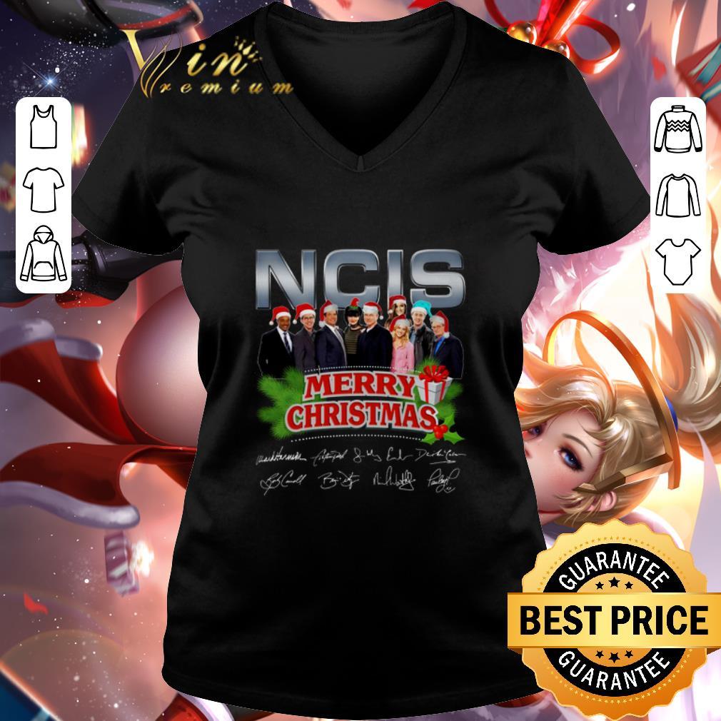 - Cheap NCIS Merry Christmas Signatures shirt