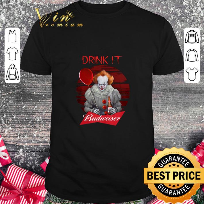 - Cheap Pennywise drink IT Budweiser shirt
