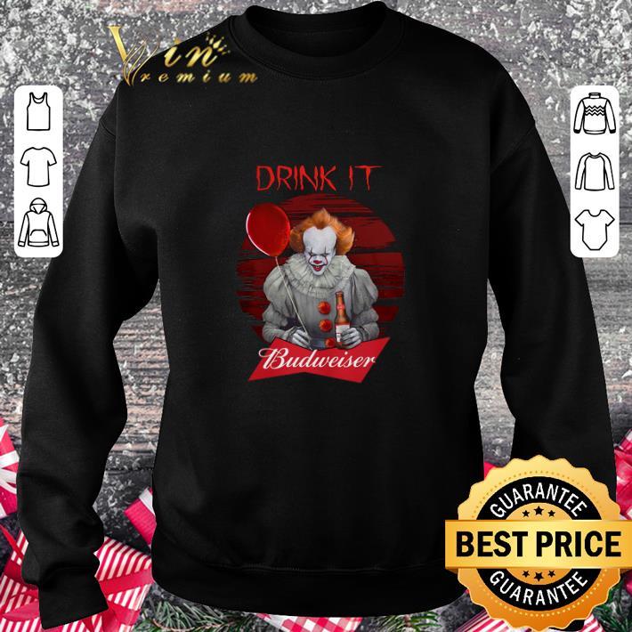 Cheap Pennywise drink IT Budweiser shirt 3