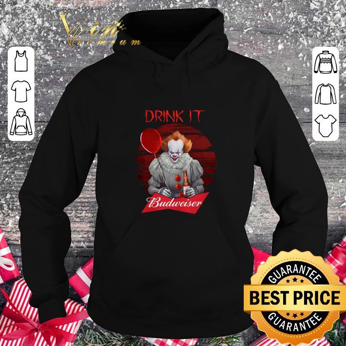 Cheap Pennywise drink IT Budweiser shirt