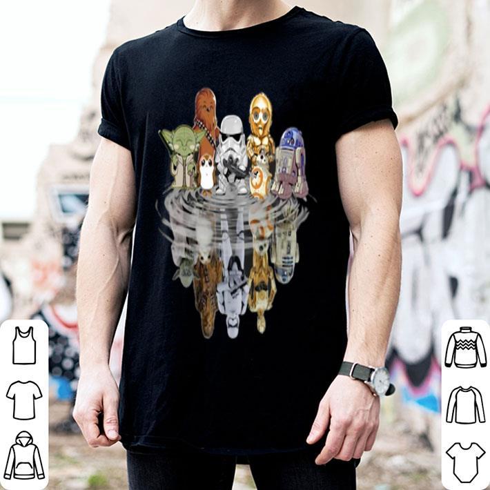 - Chibi Star Wars Characters Reflection shirt