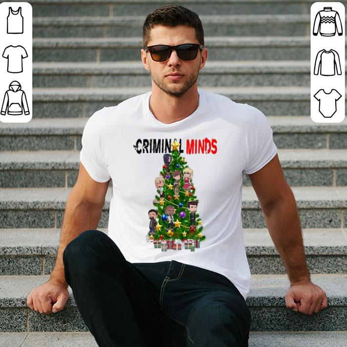 Criminal Minds Christmas Tree shirt