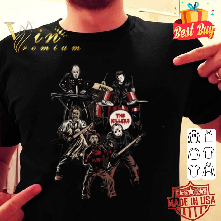 - Death Metal The Killers horror movie characters shirt