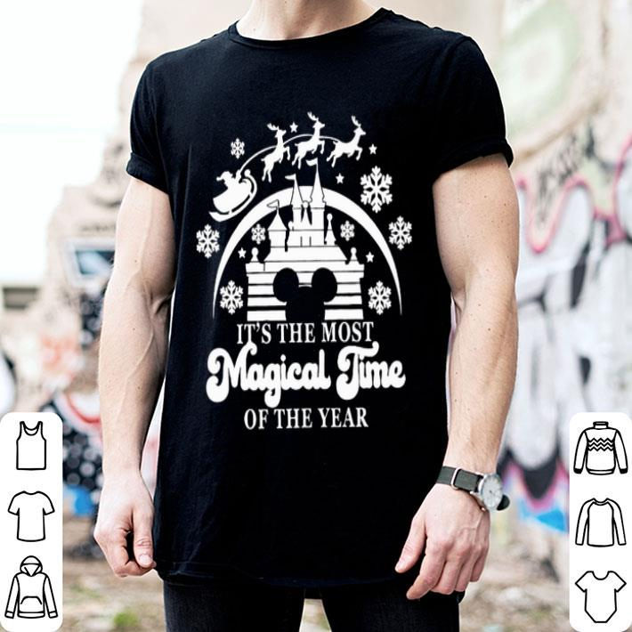 - Disney It's The Most Magical Time Of The Year Christmas shirt
