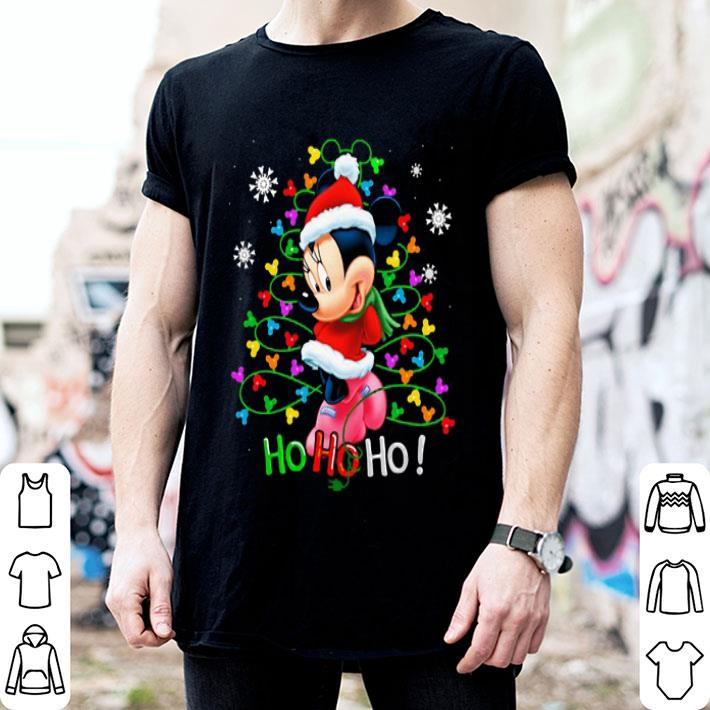 - Disney Minnie Mouse Christmas tree Weihnachten shirt