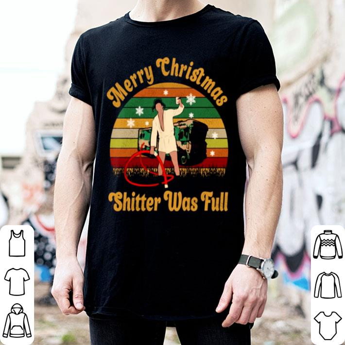 Donald Trump Merry Christmas shitter was full vintage shirt