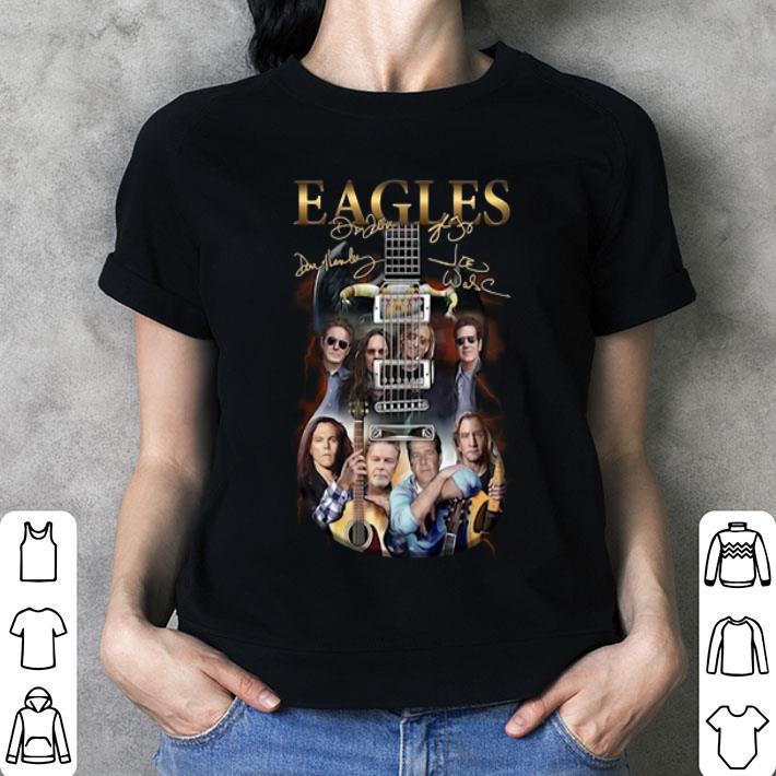 Eagles guitarist signatures shirt