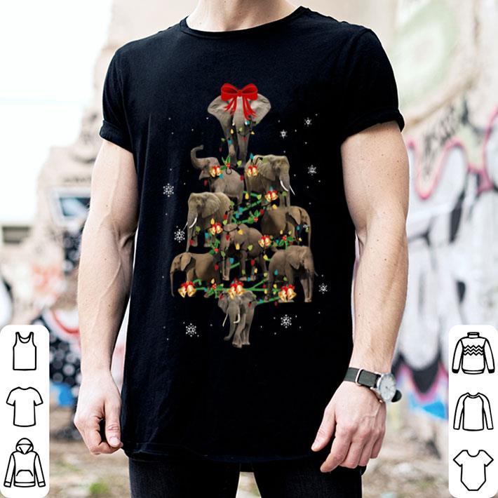 - Elephants Christmas Trees shirt