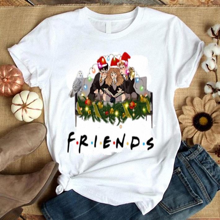 - Friends Harry Potter Hermione Ron Christmas lights shirt