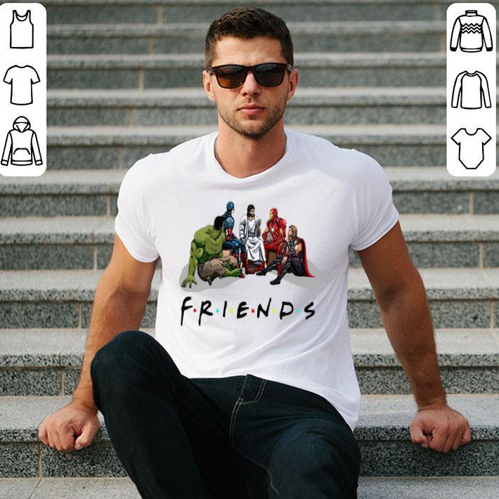 - Friends Jesus and Avengers shirt