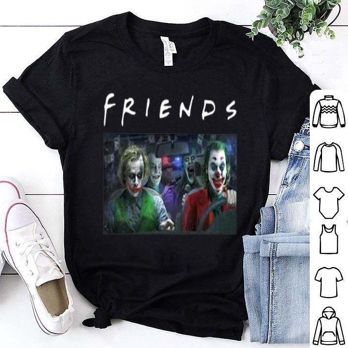 - Friends Joker Team Driving car shirt