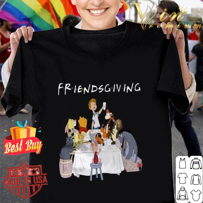 - Friendsgiving Winnie The Pooh shirt