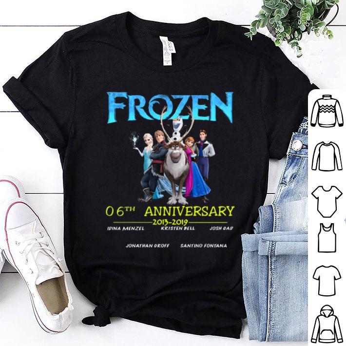 - Frozen 06th anniversary 2013-2019 shirt