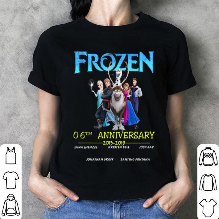 Frozen 06th anniversary 2013-2019 shirt