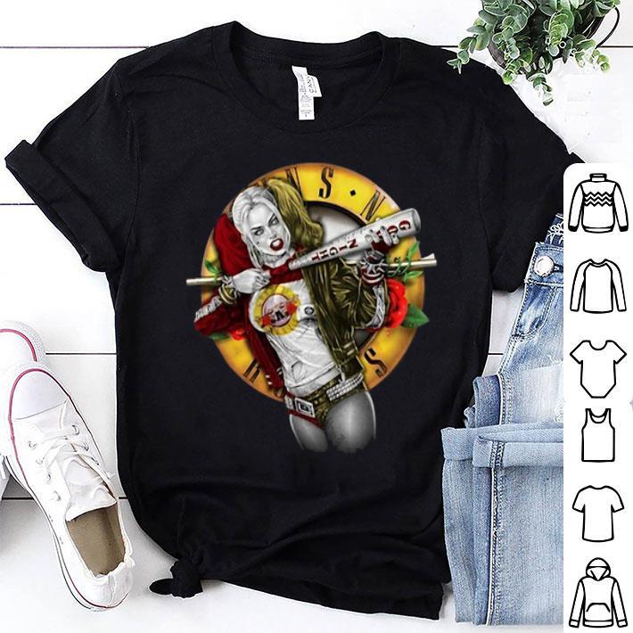 Harley Quinn Guns N Roses shirt