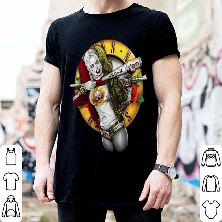 - Harley Quinn Guns N Roses shirt