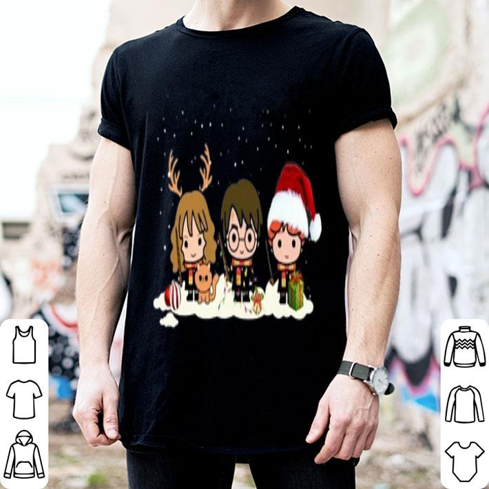 - Harry Potter characters Christmas shirt