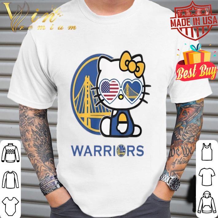 - Hello Kitty Warriors Golden State shirt
