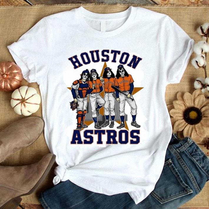 - Houston Astros Dressed to Kill Kiss shirt