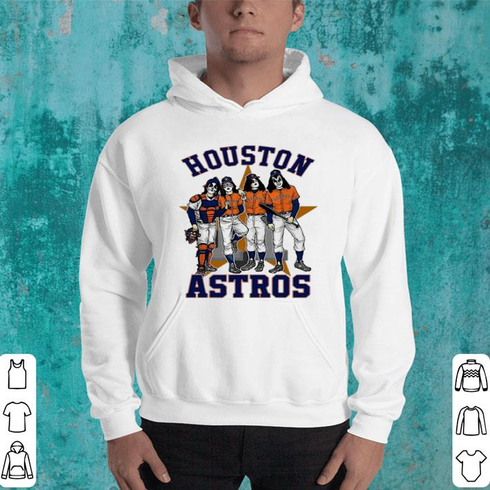 Houston Astros Dressed to Kill Kiss shirt