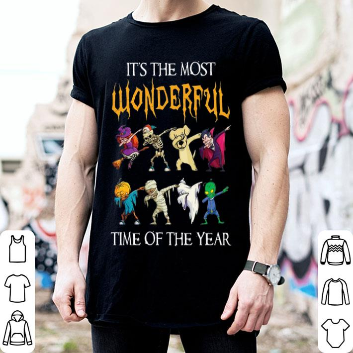- It's the most wonderful time of the year Halloween Dabbing shirt