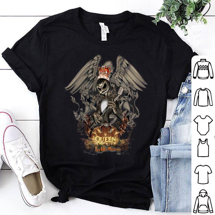 Jack Skellington Queen Freddie Mercury shirt