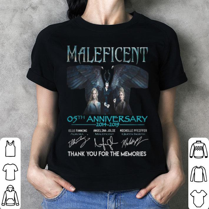 - Maleficent 05th anniversary 2014-2019 thank you for the memories shirt