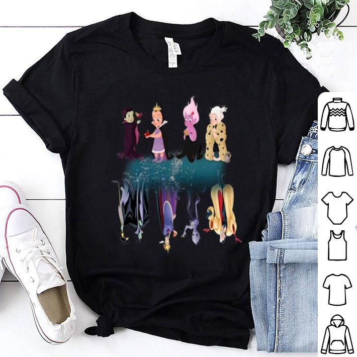 - Maleficent Characters Water Mirror shirt