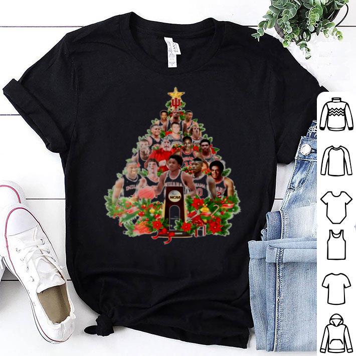- NCAA team player Christmas tree shirt
