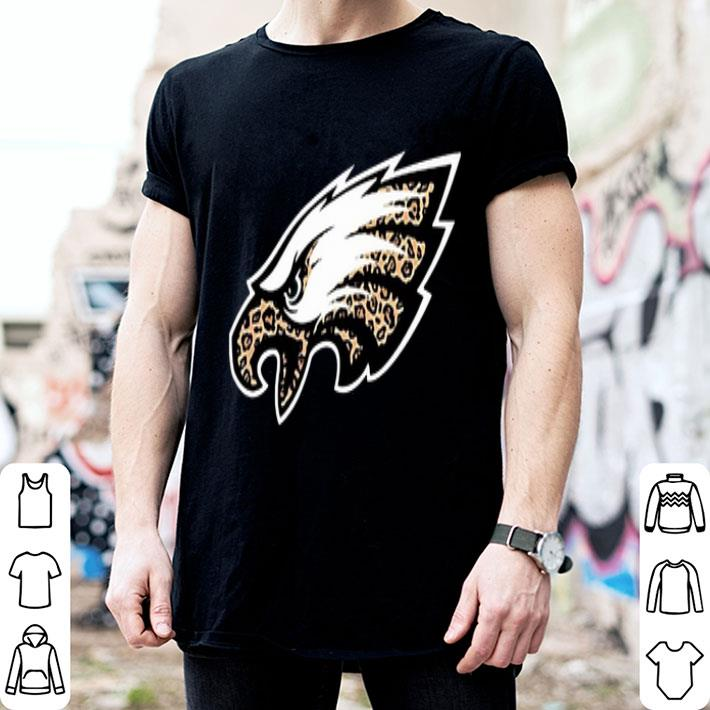 - Philadelphia Eagles leopard layer shirt