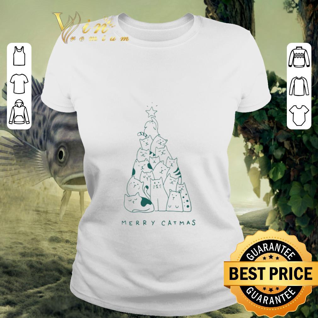 - Premium Merry Catmas Christmas Trees shirt