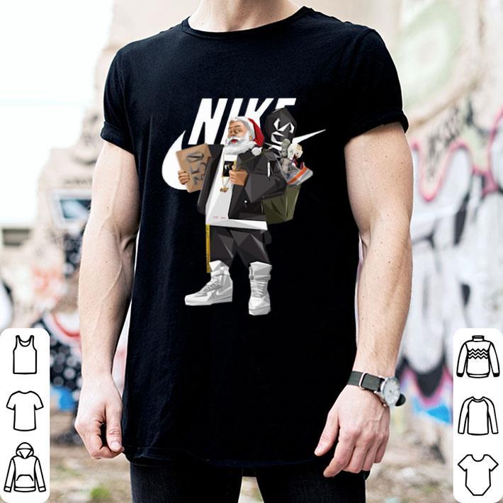 - Santa Claus Nike Supreme shirt
